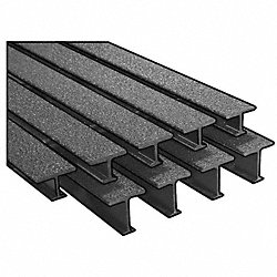 Grating, Pultruded, ISOFR, 1 1/2 In, 3 x6 Ft