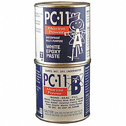 Epoxy, Marine Grade, White, 1 Lb Can