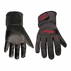 Welding Gloves, TIG, XL, 9 In. L, PR