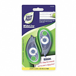 Correction Tape, Wideline, PK2