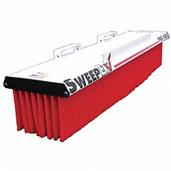 Pro Series Broom, 60 In W, 11 In H