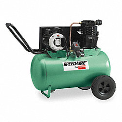 Air Compressor, 3.0 HP, 240V, 135 psi