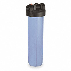 Filter Housing, 1 In NPT, 1 Cartridge