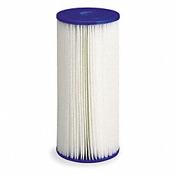 Filter Cartridge, 50 Microns, 9 3/4 In L