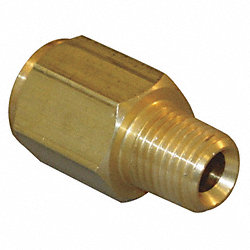 Adapter, 1/8 In, MNPT x FBSP, 1.313 In OD