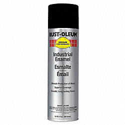 Rust Preventative Spray Paint, Black, 15oz