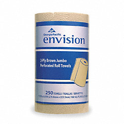 Paper Towel Roll, Envision, 250CT, PK12