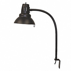 Work Light, Gooseneck, 100W, 120V, L Bracket