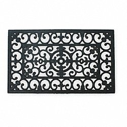 Mat, Rubber Grill, BLK, 18x30In