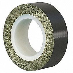 Cloth Tape, 2 In x 5 yd, 7 mil, Black