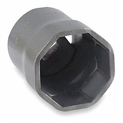 Locknut Socket, SAE, Points 8, 2 3/8 In