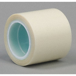 UHMW Film Tape, Clear, 12In x 5Yd