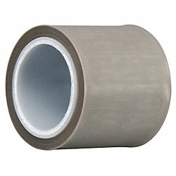Film Tape, Skived PTFE, Gray, 6 In. x 5 Yd.