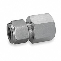 Female Connector, Pipe 3/8 In, Tube 12mm