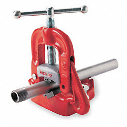 Bench Yoke Vise, 1/8-6 In Cap, 17x11 1/4In