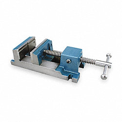 Drill Press Vise, W 4.5 In, Open 4.75 In