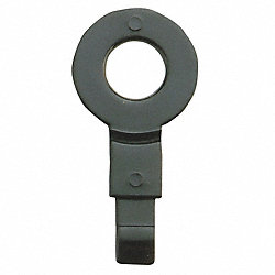 Fill Point ID Washer, 1/4 NPT, Black, Pk 6