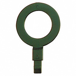 Fill Point ID Washer, 1 NPT, Dk Green, Pk 6