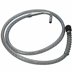 Discharge Hose, w/Anti-Drip Nozzle, 4 ft