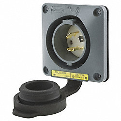 Inlet, Twist Lock, 20 A, L5-20
