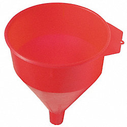 Funnel, 6 Quart, Dia 9 In, Length 9 In