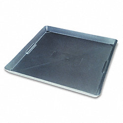 Plastic Drain Pan, 22x22 In