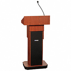 Lectern, Full Height, Sound, Mahogany