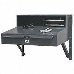 Wall Mounted Desk, W 30, H 27, D 28