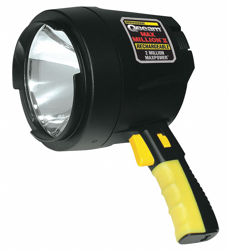 BRINKMANN Halogen Spotlight, Rechargeable, Black by Brinkmann 800-2655-2 at Sears.com