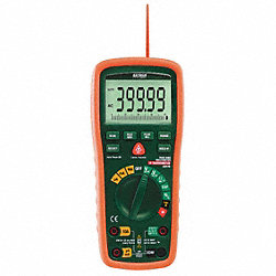 Digital Multimeter, 1000V, 20A, 40 MOhms