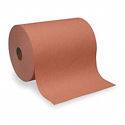 Shop Towel Roll, 250 ft. L, Orange, PK 6