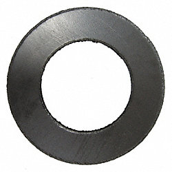 Flange Gasket, Ring, 2 In, Graphite