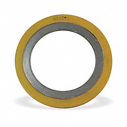 Flange Gasket, Ring, 3 In, Carbon Steel