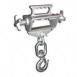 Fork Truck Lifting Hook, Sgl, Cap 4000Lb.