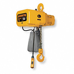 Electric Chain Hoist, 6000 lb., 17 fpm