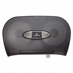 Bath Tissue Dispenser, 2 Roll Cap