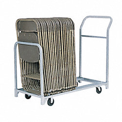 Fldng/Stacked Chr Cart, 24 Chairs, 300 lb.