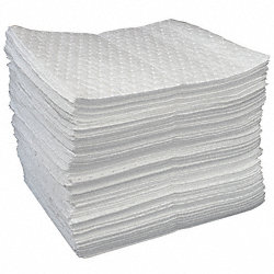 Absorbent Pads, 19 In. L, 15 In. W, PK 100