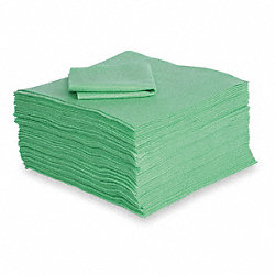Absorbent Pads, 18 In. W, 18 In. L, PK 50