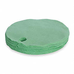 Drum Top Absorbent Pad, 14 gal., PK 25