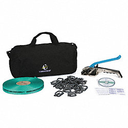 Strapping Kit, Polyester, 164 ft. L
