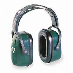 Ear Muff, 28dB, Over-the-Head, Green