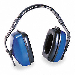 Ear Muff, 27/25/25dB, Multi-Position, Blue