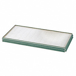 Mini Pleat Filter with Gasket, 24 In. W