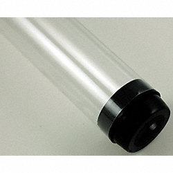 Safety Sleeve, T5 Lamps, Clear, 45 3/16 IN