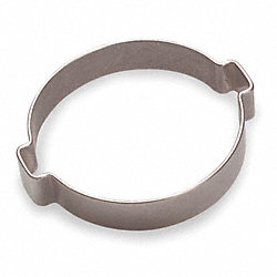 Hose Clamp, SS, Nom.Size. 19/32 In., PK100