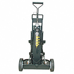 Air Cylinder Cart, 2 Cylinders, 4500 psi