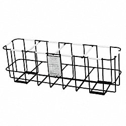 SCBA Storage Rack, Black, Steel