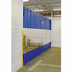 Curtain Wall Partition, HxW 8x24Ft