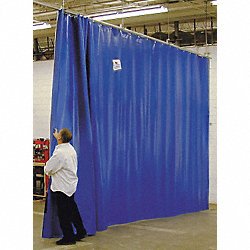 Curtain Wall Partition, HxW 12x24Ft